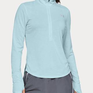 Tričko Under Armour Streaker 2.0 Half Zip Modrá